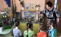 занятие в детской лаборатории Почемучка